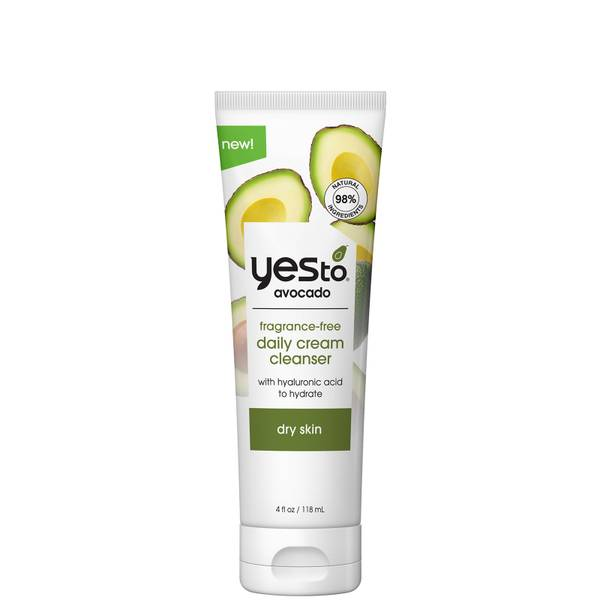 yes to Avocado Fragrance Free Daily Cream Cleanser 118ml