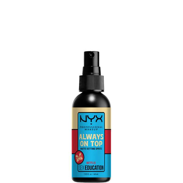 NYX Professional Makeup x Netflix's Sex Education Limited Edition 'Always On Top' Matte Setting Spray