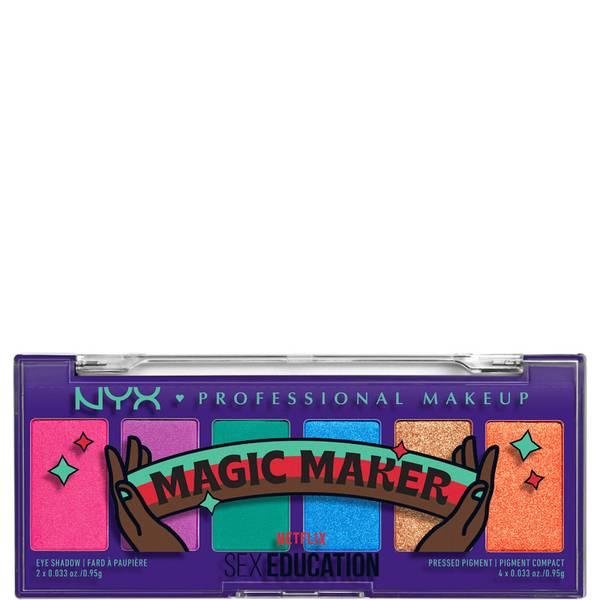 NYX Professional Makeup x Netflix's Sex Education 限定版「Magic Maker」シャドウパレット