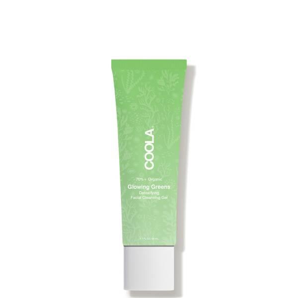 COOLA Glowing Greens Detoxifying Facial Cleansing Gel - Travel Size 1.7 fl. oz.