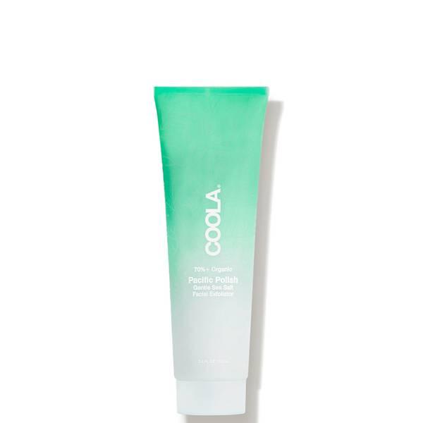 COOLA Pacific Polish Gentle Sea Salt Facial Exfoliator 3.4 oz.