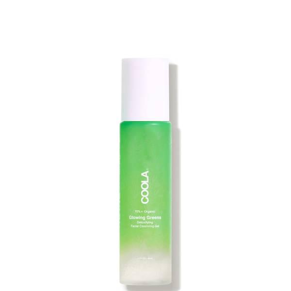 COOLA Glowing Greens Detoxifying Facial Cleansing Gel 5 oz.