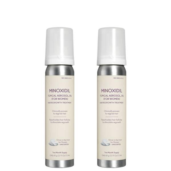 VIRTUE Minoxidil Foam 5 For Women 2 piece
