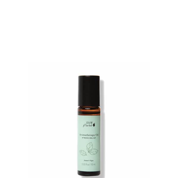 100 Pure Aromatherapy Oil Stress Relief 0.33 fl. oz.