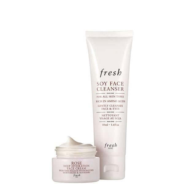 Fresh Cleanse & Moisturize Skincare Set