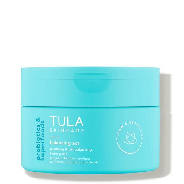 TULA Skincare Balancing Act Purifying pH Balancing Toner Pads 60 count
