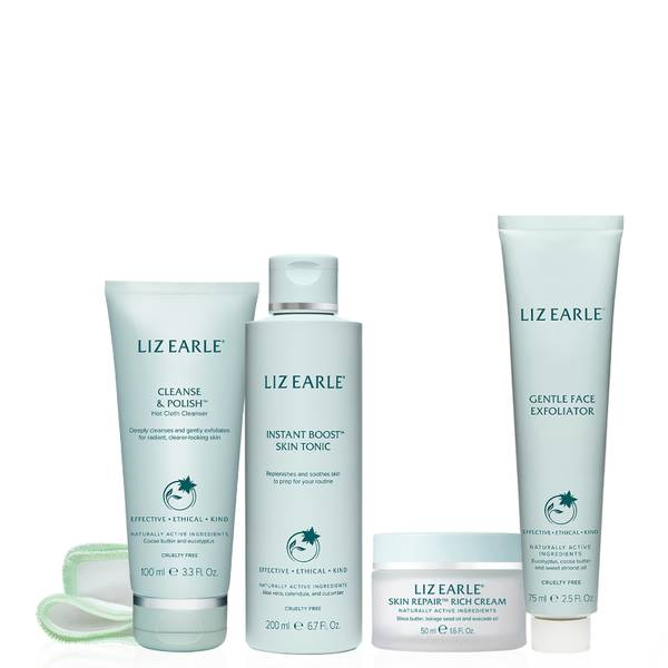 Liz Earle Your Daily Routine with Skin Repair Rich Cream Kit