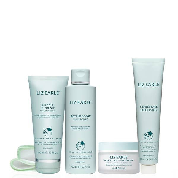 Liz Earle Your Daily Routine with Skin Repair Gel Cream Kit