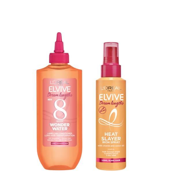 L'Oréal Paris Elvive Dream Duo - Wonder Water Treatment and Heat Slayer Protect Spray