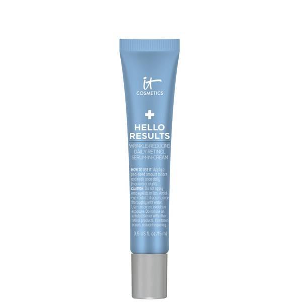 IT Cosmetics Hello Results Wrinkle-Reducing Daily Retinol Cream (Various Sizes)