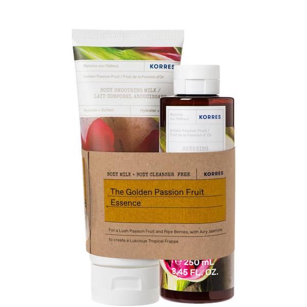 Set Lait corporel et nettoyant Golden Passionfruit