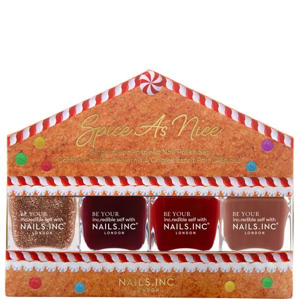nails inc. Nail Spice Quad