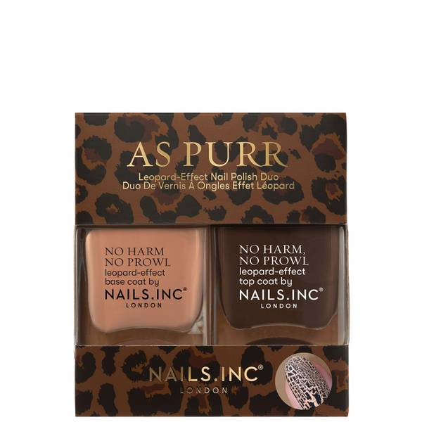 nails inc. As Purr Leopard Duo