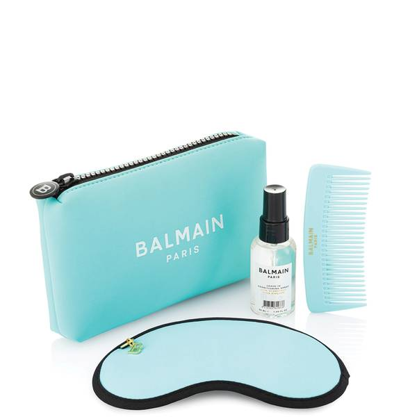 Balmain Limited Edition Cosmetic Bag - Turquoise
