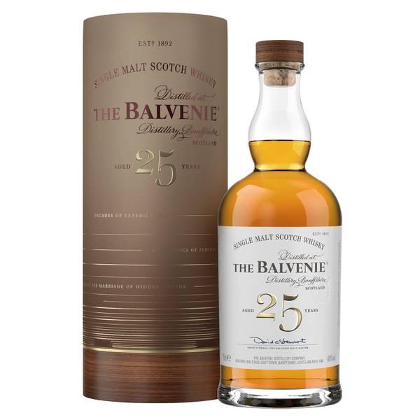 The Balvenie Twenty-Five Single Malt Scotch Whisky 70cl