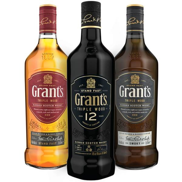 Grant's Triple Wood Collection – Triple Wood, Triple Wood 12 and Smoky Blended Whisky