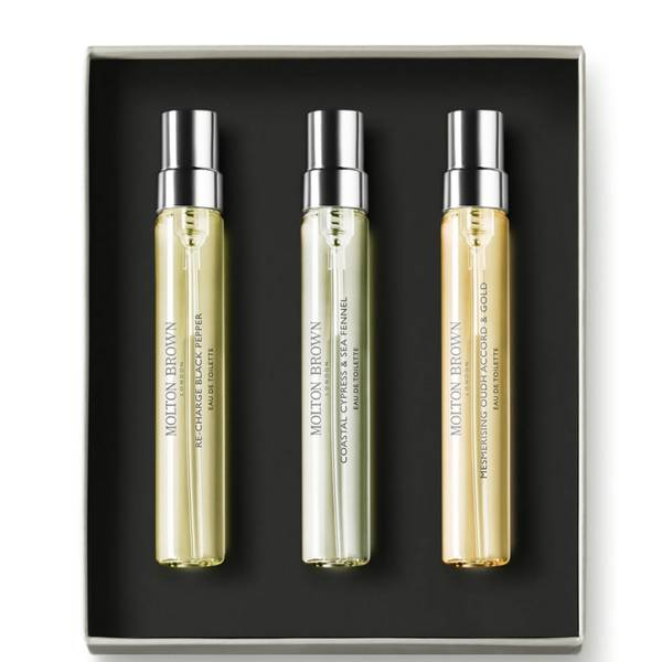 Molton Brown Woody & Aromatic Fragrance Discovery Set
