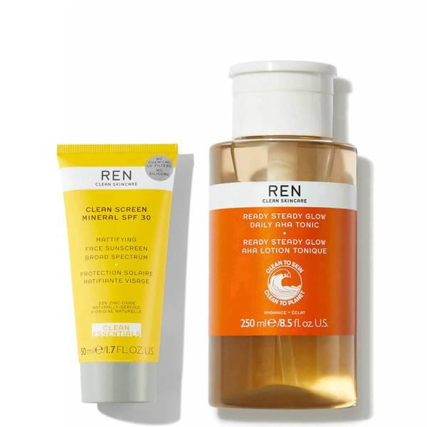 REN Clean Skincare GlowCation Kit