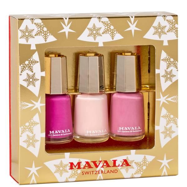 Mavala Gold Trio Pinks
