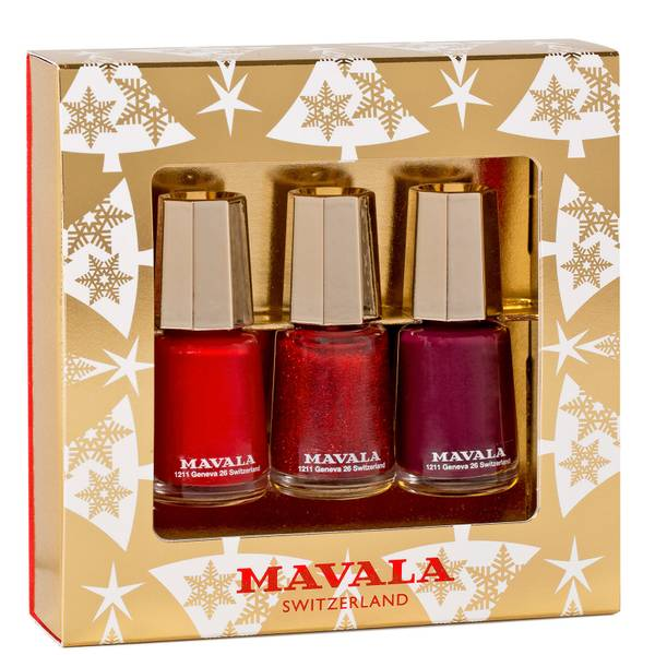 Mavala Gold Trio Sparkling Berries