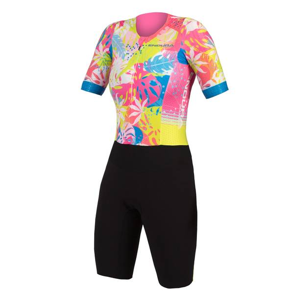 Lucy Charles-Barclay Hawaiian Adventure Tri Suit - Pink