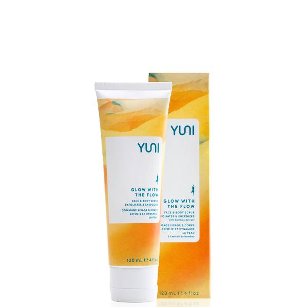 Yuni Beauty Glow with The Face and Body Scrub 120ml