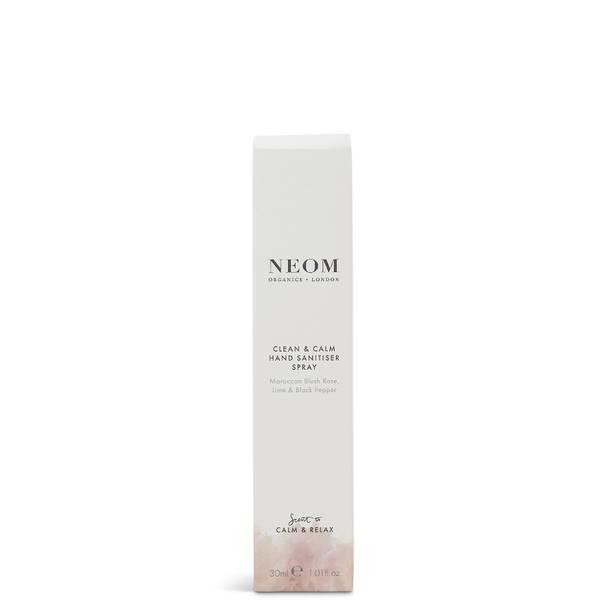 NEOM Clean & Calm Hand Sanitising Spray 30ml
