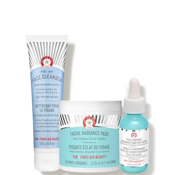 First Aid Beauty Banish Dark Spots Bundle 3 piece - $100 Value