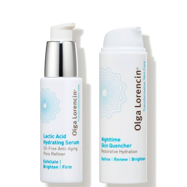 Olga Lorencin Skin Care Dermstore Exclusive Hydrate Glow Kit 2 piece - $154 Value
