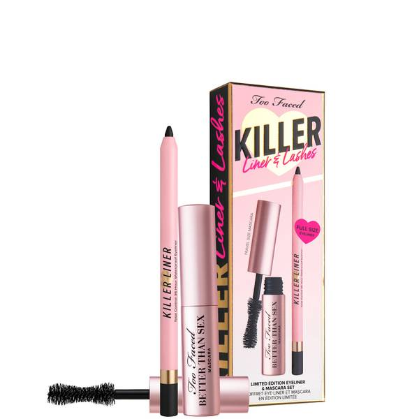 Too Faced Limited Edition Killer Lashes and Liner Mascara and Eyeliner Duo