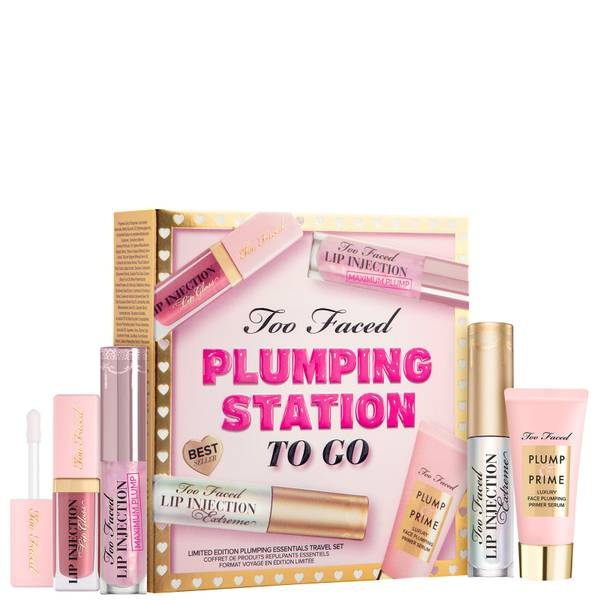 Too Faced Limited Edition Plumping Station To Go Plumping Essentials Set