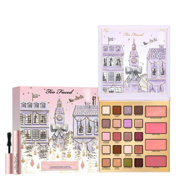 Too Faced Limited Edition Christmas in London Makeup Set