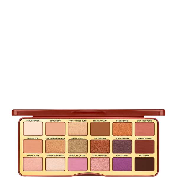 Too Faced Limited Edition Cinnamon Swirl Sweet & Spicy Eyeshadow Palette