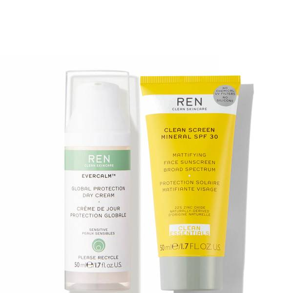 REN Clean Skincare Hydrate and Protect Bundle