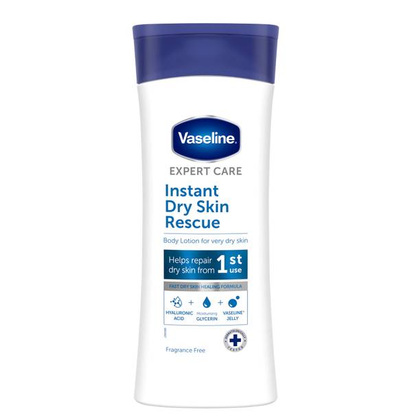Vaseline Expert Care Instant Dry Skin Rescue Body Lotion