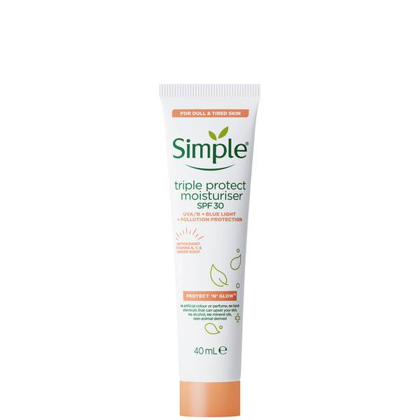 Simple Protect 'N' Glow Triple Protect SPF30 Moisturiser