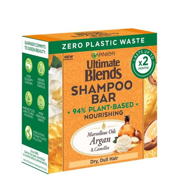 Garnier Ultimate Blends Marvellous Oils Nourishing Shampoo Bar 60g