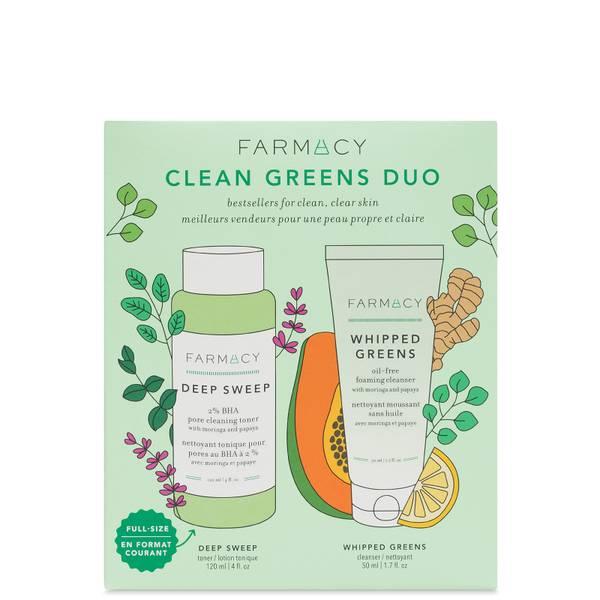 FARMACY Clean Greens Duo