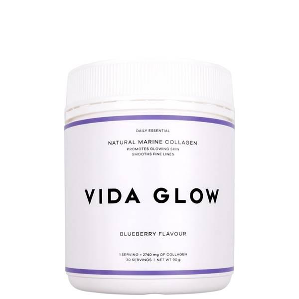 Vida GlowMarine Collagen Blueberry Loose Powder 90g