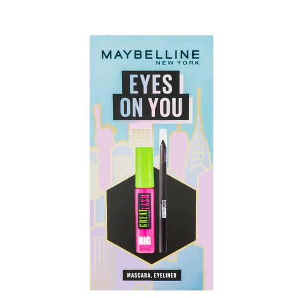 Maybelline Makeup Kit Eyes on You, Black Eyeliner & Mascara Julgåva Set