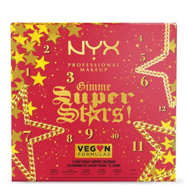 NYX Professional Makeup ¡Gimme Super Stars! Calendario de Adviento de 12 días de Iconos Veganos