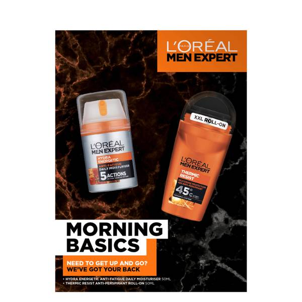 L'Oreal Paris Men Expert Morning Basics Gift Set for Him