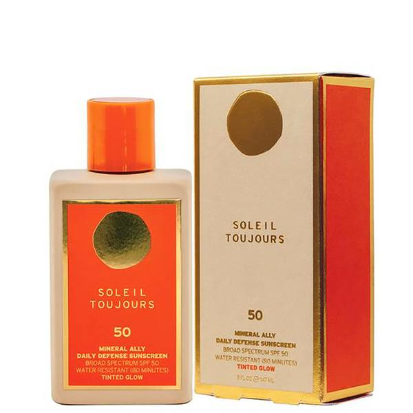 Soleil Toujours Mineral Ally Daily Defense SPF 50 Tinted Glow 5 fl. oz.