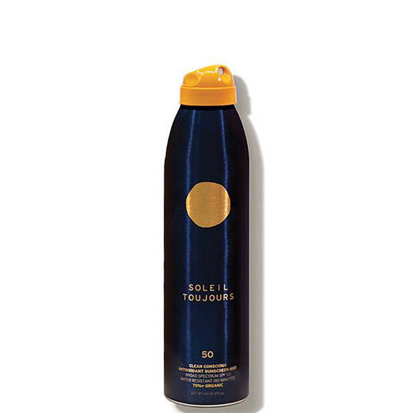 Soleil Toujours Clean Conscious Antioxidant Sunscreen Mist SPF 50 6 fl. oz.