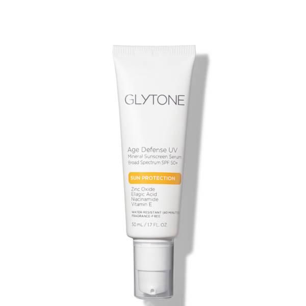 Glytone Age Defense UV Mineral Sunscreen Serum Broad Spectrum SPF 50+ 1.7 fl. oz.