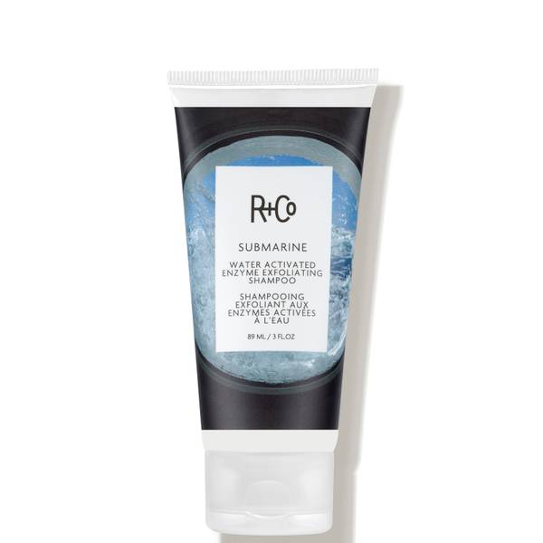 R+Co SUBMARINE Water Activated Enzyme Exfoliating Shampoo 3 oz.