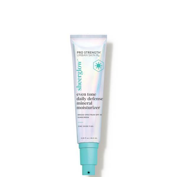 Urban Skin Rx SheerGlow Even Tone Daily Defense Mineral Moisturizer SPF 30 2.25 fl. oz.
