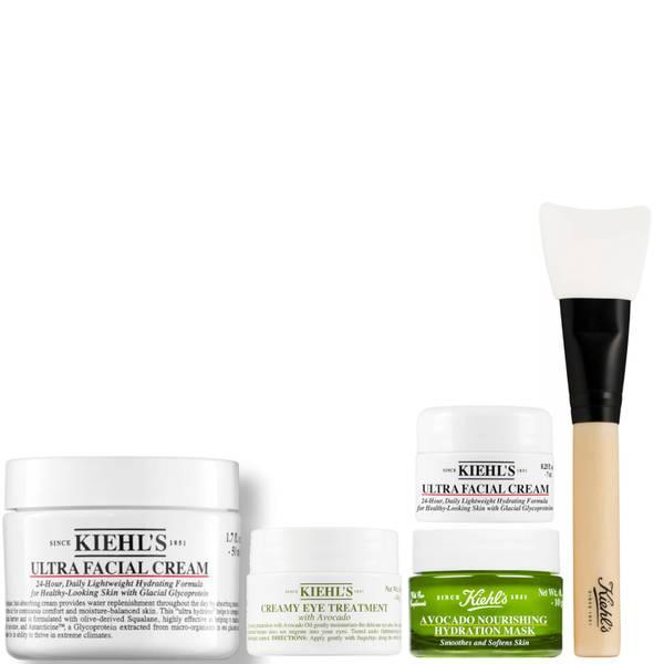 Kiehl's Creamy Avocado Augenpflege and Ultra Gesichtspflege Bundle