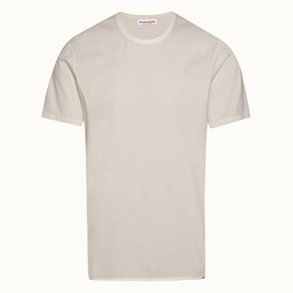 Nicolas Binding 릴렉스드 핏 코튼 티셔츠 클라우드