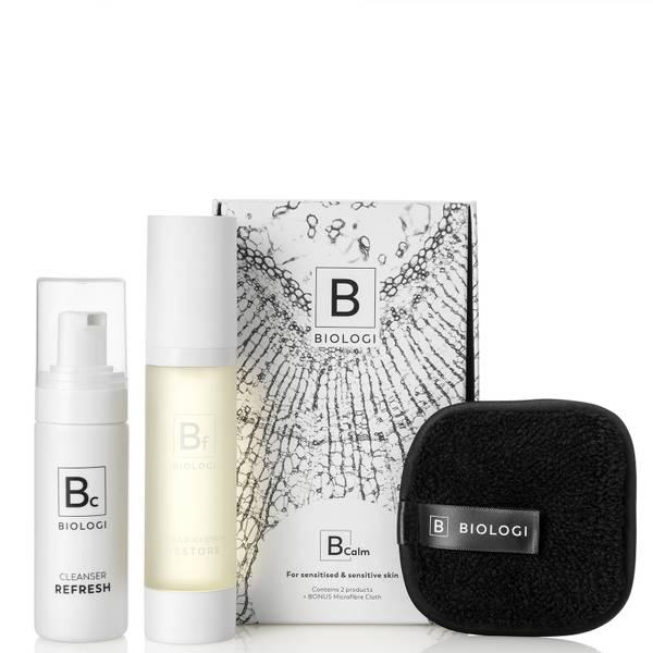 Biologi BCalm Skin Concern Bundle for Redness and Sensitive Skin